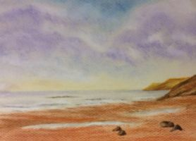 Lonely beach by Jennyben