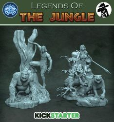 Legends Of The Jungle Kickstarter by HecM