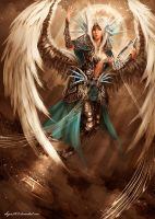 Seven Angels: Uri by shizen1102