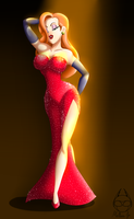 Jessica Rabbit by Mellea-Jo