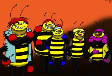 The Wasp Gang 2011 by BluebottleFlyer