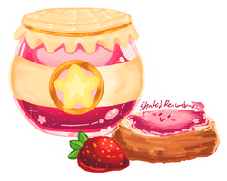 Kirby Jam and Biscuit by ShadedPenumbra