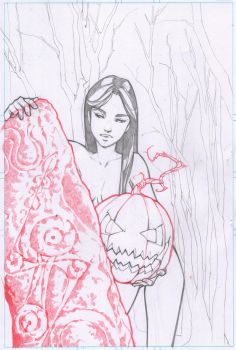 Witchfire Halloween pencils for sale by MMHudson