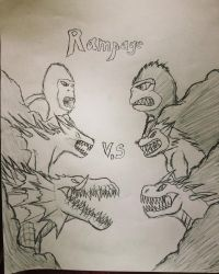 Rampage  Movie VS Classic by ShadowReaper1954