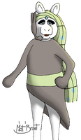 Miss Piggy as Meloetta by AniMat505