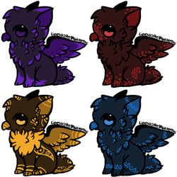 [OPEN] 25 Point Griffin Adopts! by Sparrow-Adopts