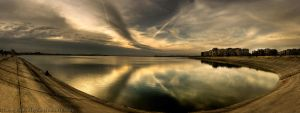 Spring Sunset Panoramic HDR by ScorpionEntity