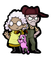 Courage and the Fam by GhosTyce