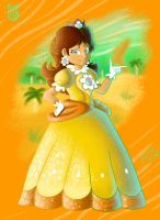 Mario Animations Project: Daisy by Jazzy-Book