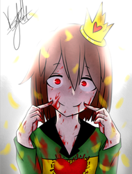 Smile~ (SlaveTale Chara) by Tomboywolfthief