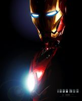 IRON MAN Vector by erickenji