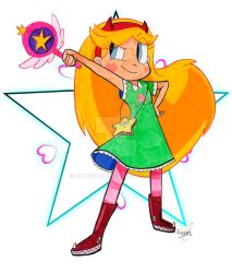 Star vs the forces of evil by Silvestrin