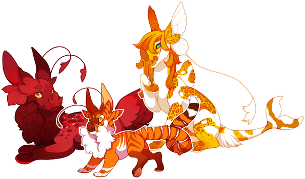 Grotte Color FS Grows: Red/Orange/Yellow by LilKyubee