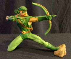 Green Arrow, different view by beastgrinder