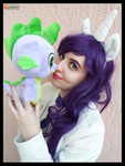 (MLP) Rarity x Spike Cosplay by KrazyKari