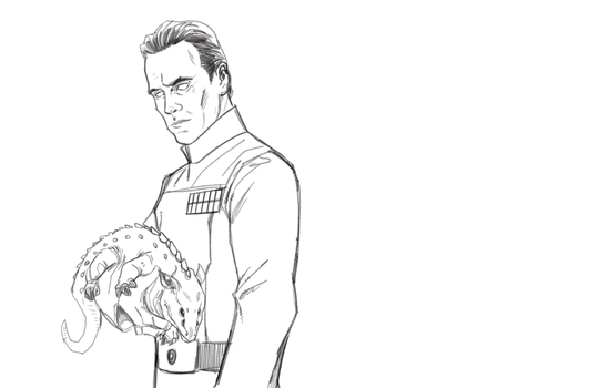 Thrawn WIP by Hodges-Art