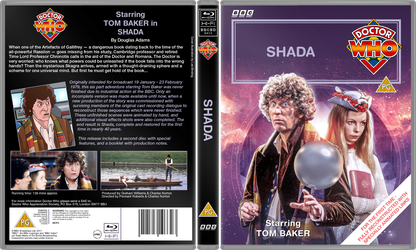 Doctor Who: Shada - VHS Cover by FrankRT
