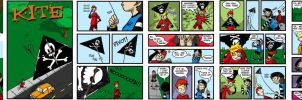 Ninja vs Pirate Issue 1 by pirate-trish