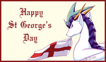 Happy St George's Day by GhostLiger