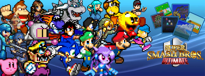 Super Smash Bros. Ultimate Banner by Jack-Hedgehog