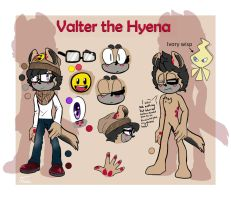Valter the Hyena :reference: by TothViki