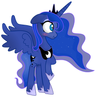 Luna blush. by Coltsteelstallion