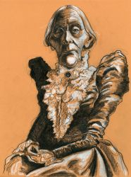 Susan B. Anthony by Caricature80