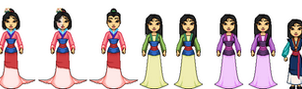 Mulan Collection by Mauvio