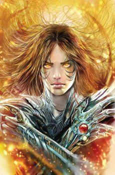witchblade tpb cover by nebezial