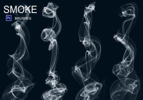 20 Smoke PS Brushes abr. Vol.6 by fhfgdjjkhjkj