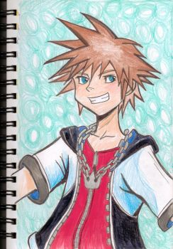 Sora- Kingdom of Heart's by BoxcarChildren