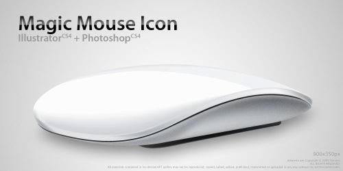 Magic Mouse Icon by Nemed