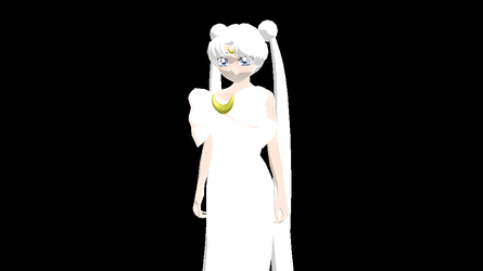 MMD Newcomer - Queen Serenity (DL) by Xeno-Fan-Jay