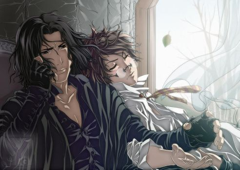 HP - Snape x Potter - His Hand by Aaorin