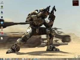 Halo Windows 7 Theme by yonited