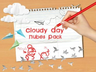 Cloudy Day Nubes PNG Pack by XWondergirlzX1995