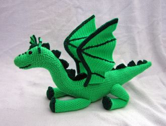 Green Dragon by TheSeaKnight