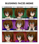 :.Kim.::.Blush Meme.: by Kimkasa
