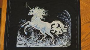 Unicorn Cross Stitch - Part 10 by SorrowsMadness