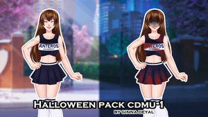 Pack Halloween 1 by Ginna Deyal by GinnaDeyal