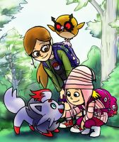 Despicable Me - Edith and Margo Pokemon Trainers