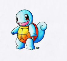 #007 - Squirtle (V.2) by GTS257-CT