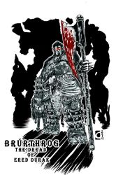 Brurthrog- The Dread of Ered Durak by Legate