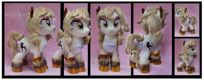 Oh Lala Custom Plush by Nazegoreng