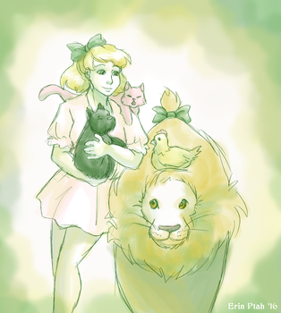 Dorothy's Menagerie by ErinPtah