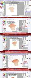 How to color and shade skin in SAI by Sttuffy