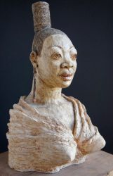Benin Bronze, New York Style by NLTSculptor