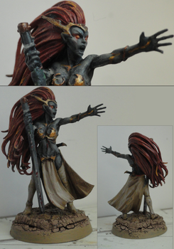 Sorceress by FleshcraftKitBash