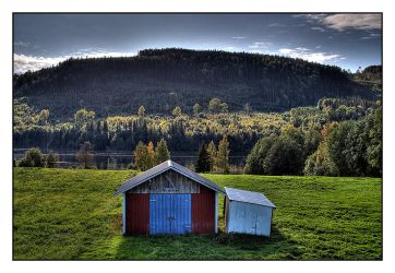 Norrland - The hills by AnteAlien