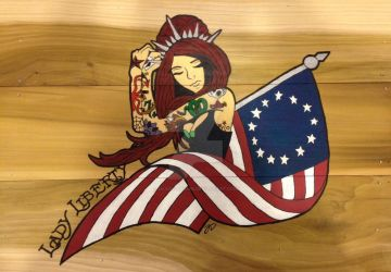 Lady Liberty by lilsurferbabe